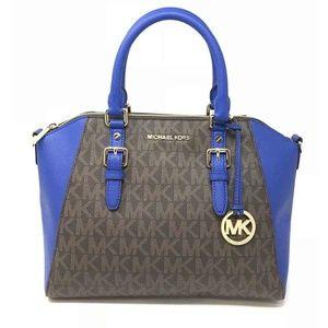 Michael Kors Ciara Large Zip Satchel Crossbody Bag